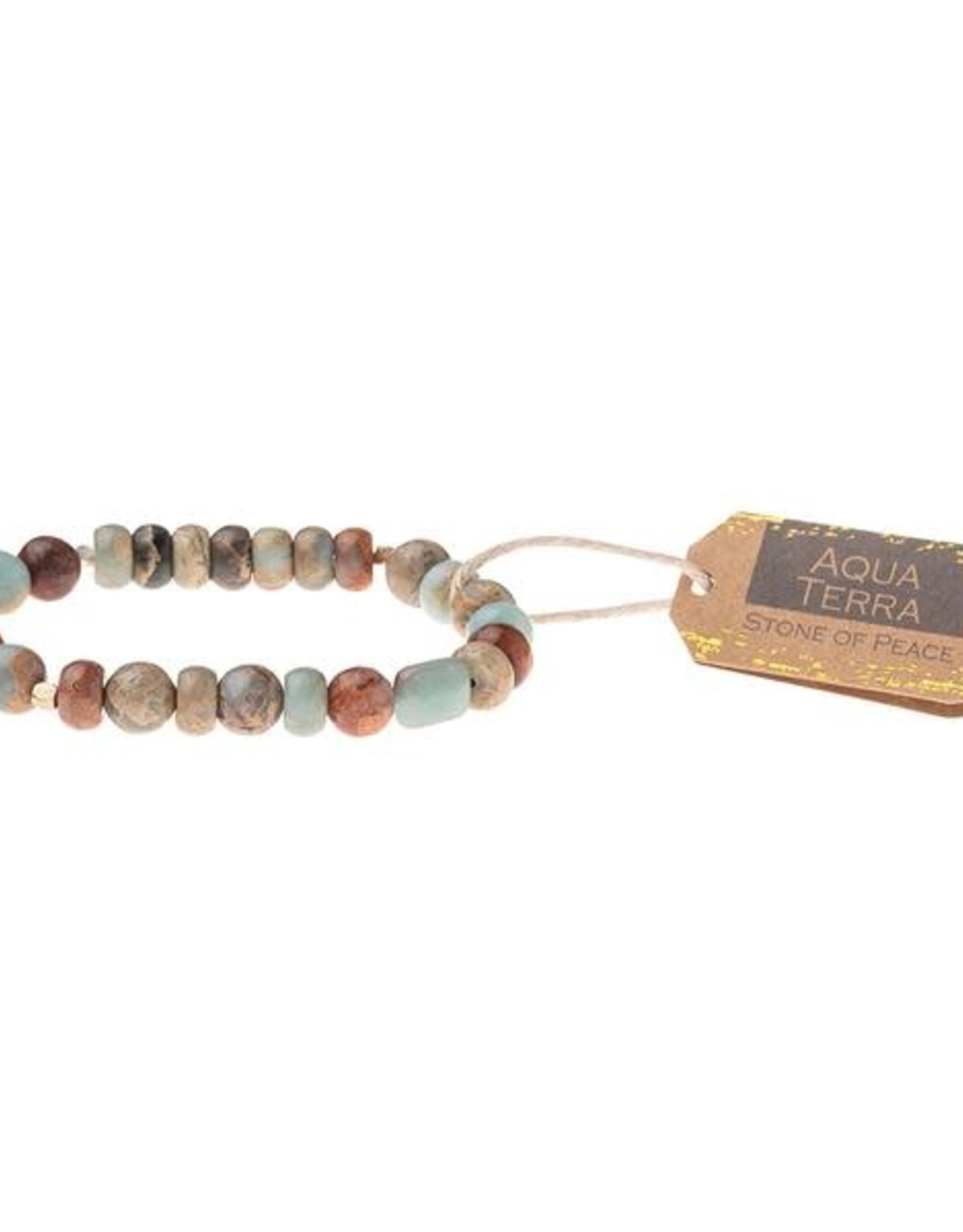Scout Stone Bracelet - Aqua Terra