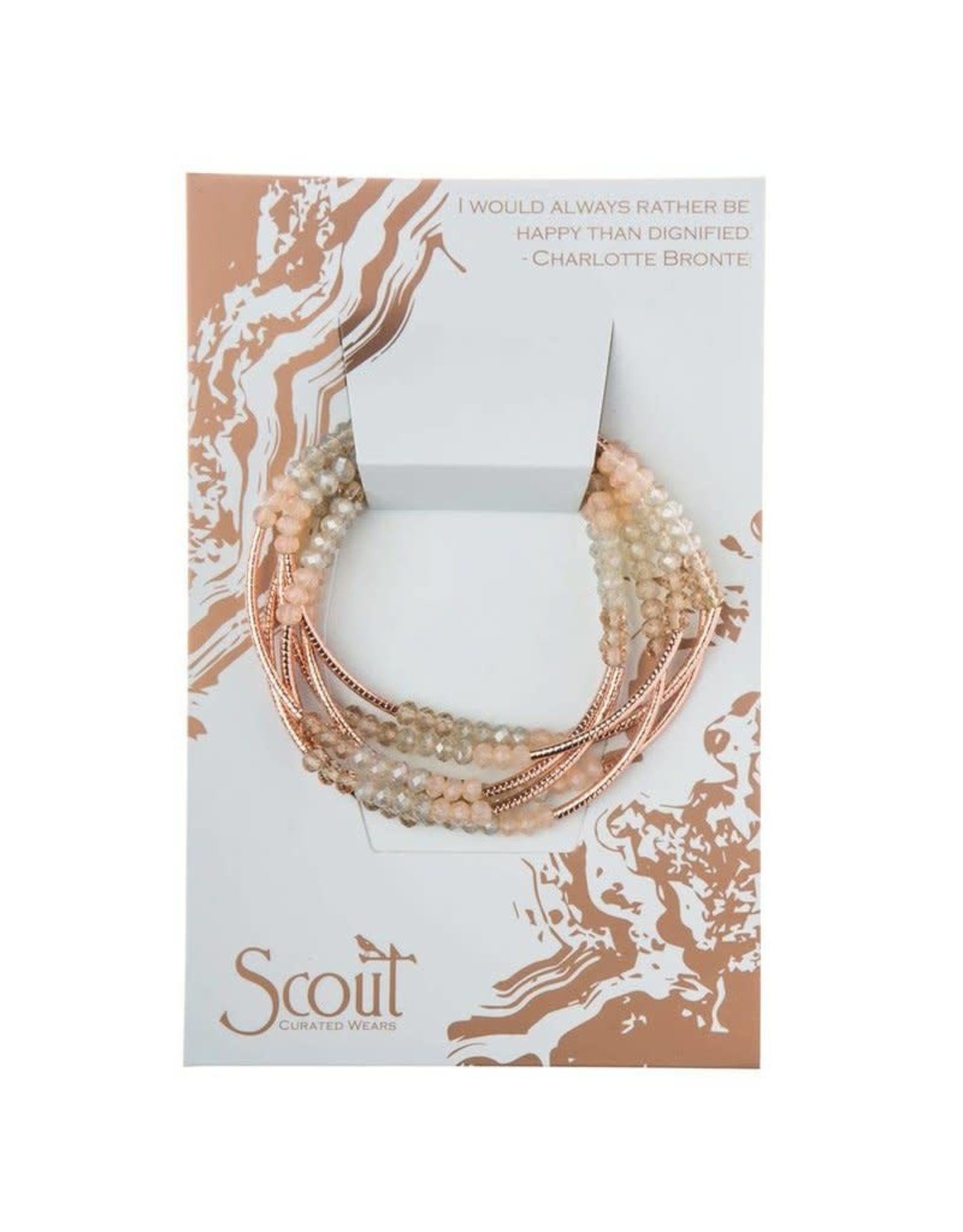 Scout Scout Wrap Shell/Rose Gold