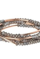 Scout Scout Wrap-Pewter/Rose Gold