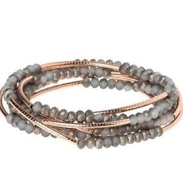 Scout Scout Wrap- Pewter/Rose Gold