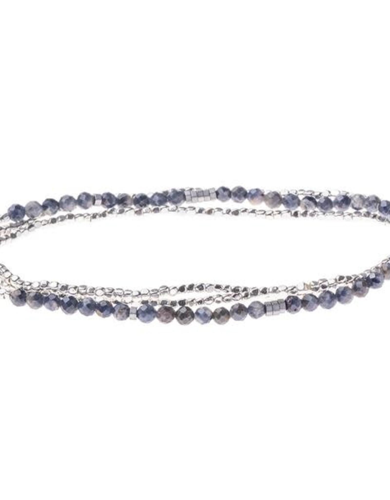 Scout Delicate Stone Iolite Sunstone/Silver