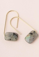Scout Floating Stone Earring-Labradorite