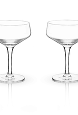 True Brands Crystal Coupe Glass-7 oz.