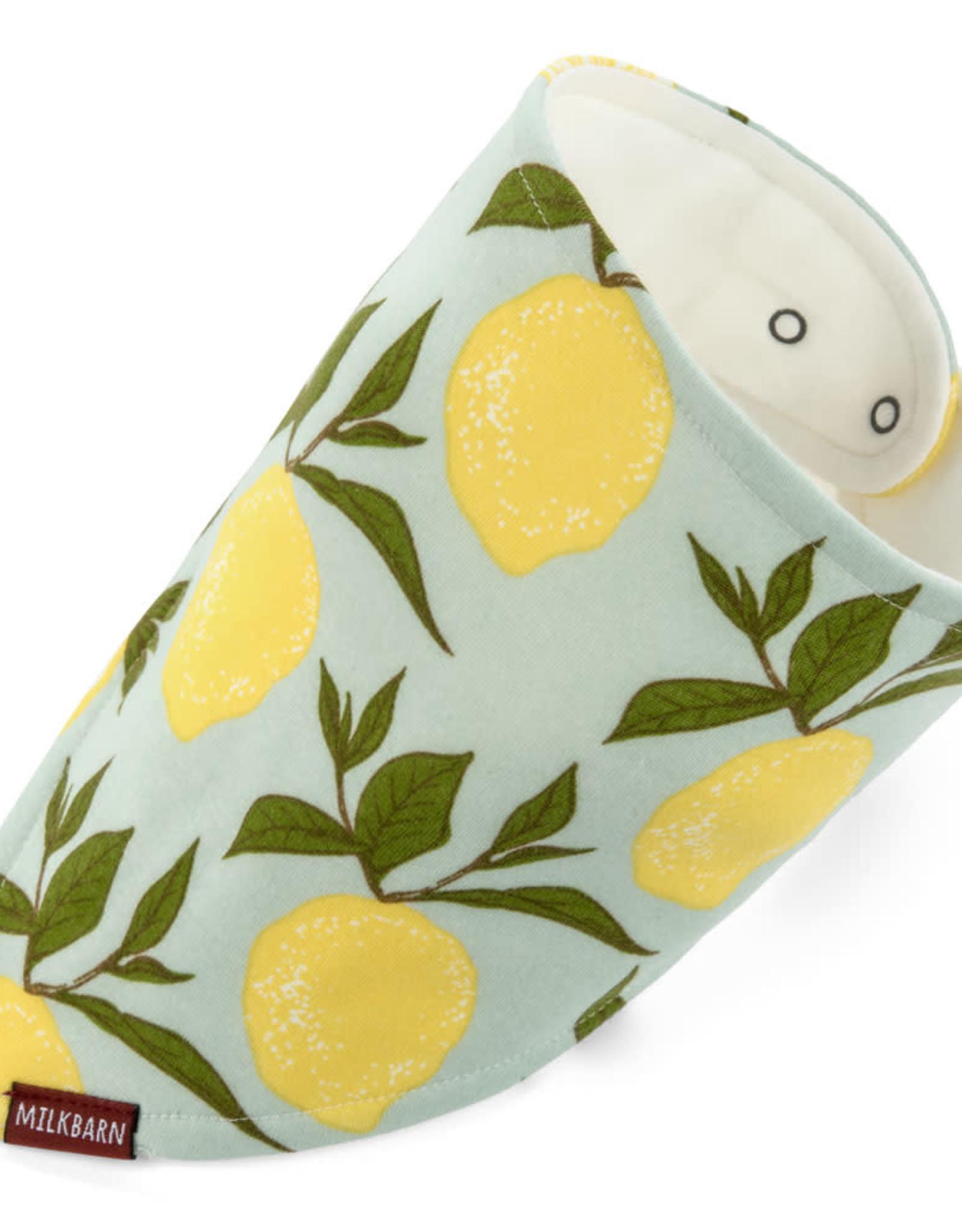 Milkbarn Kerchief Bib Lemons