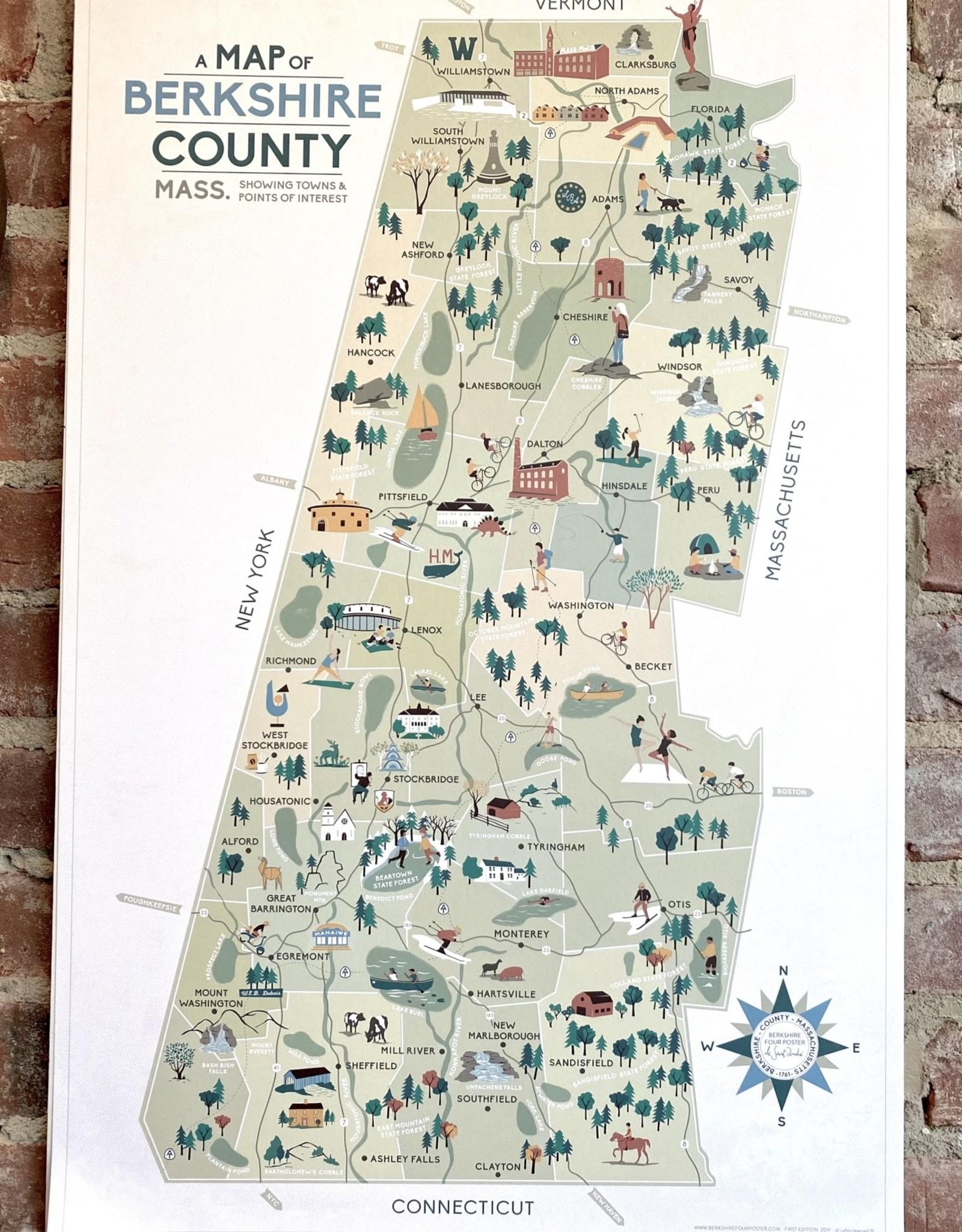 Moho Design Berkshire Map