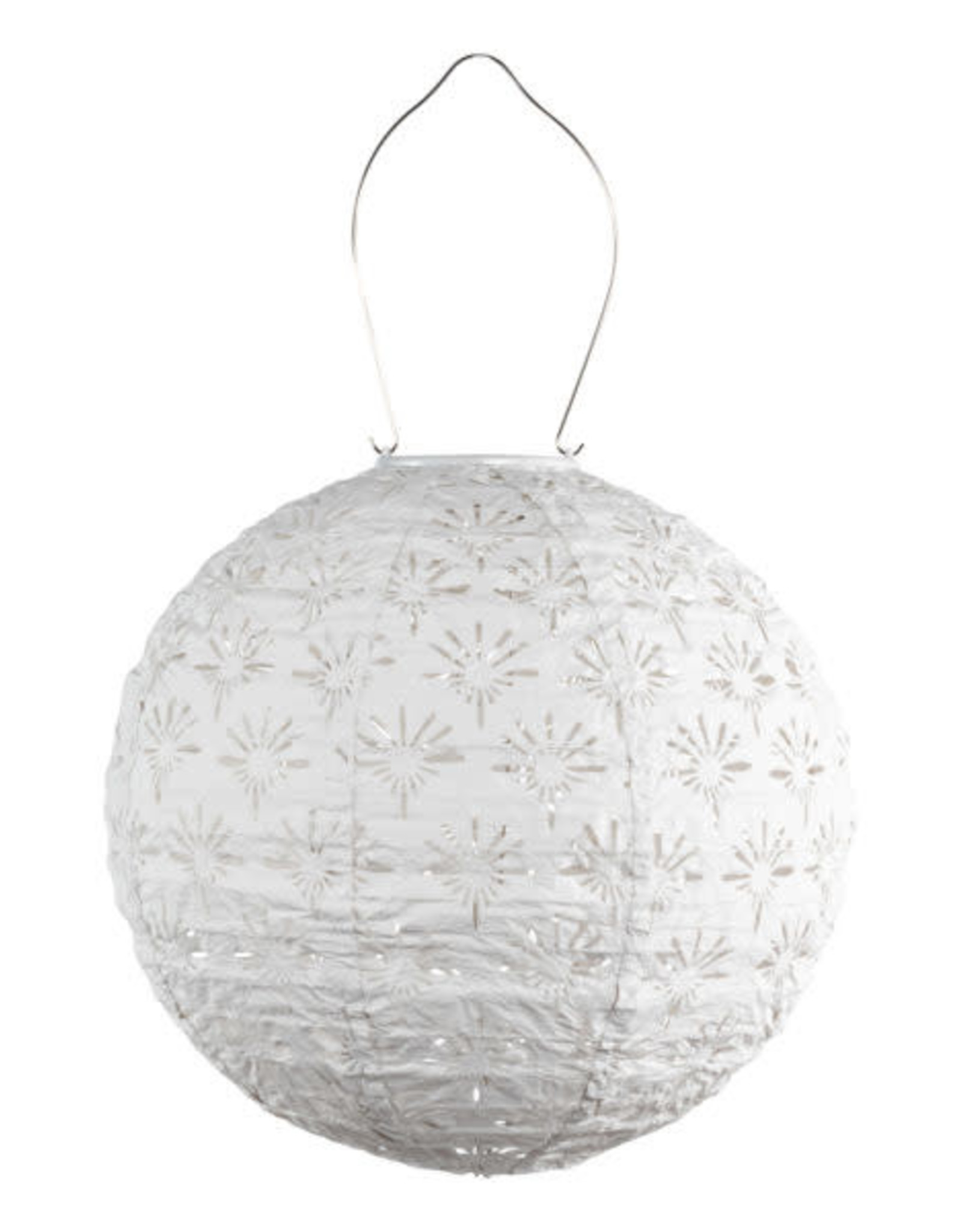 Allsop Stella Deco Globe White Lantern