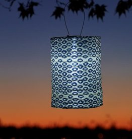 Allsop Printed Tribal Diamond Lantern