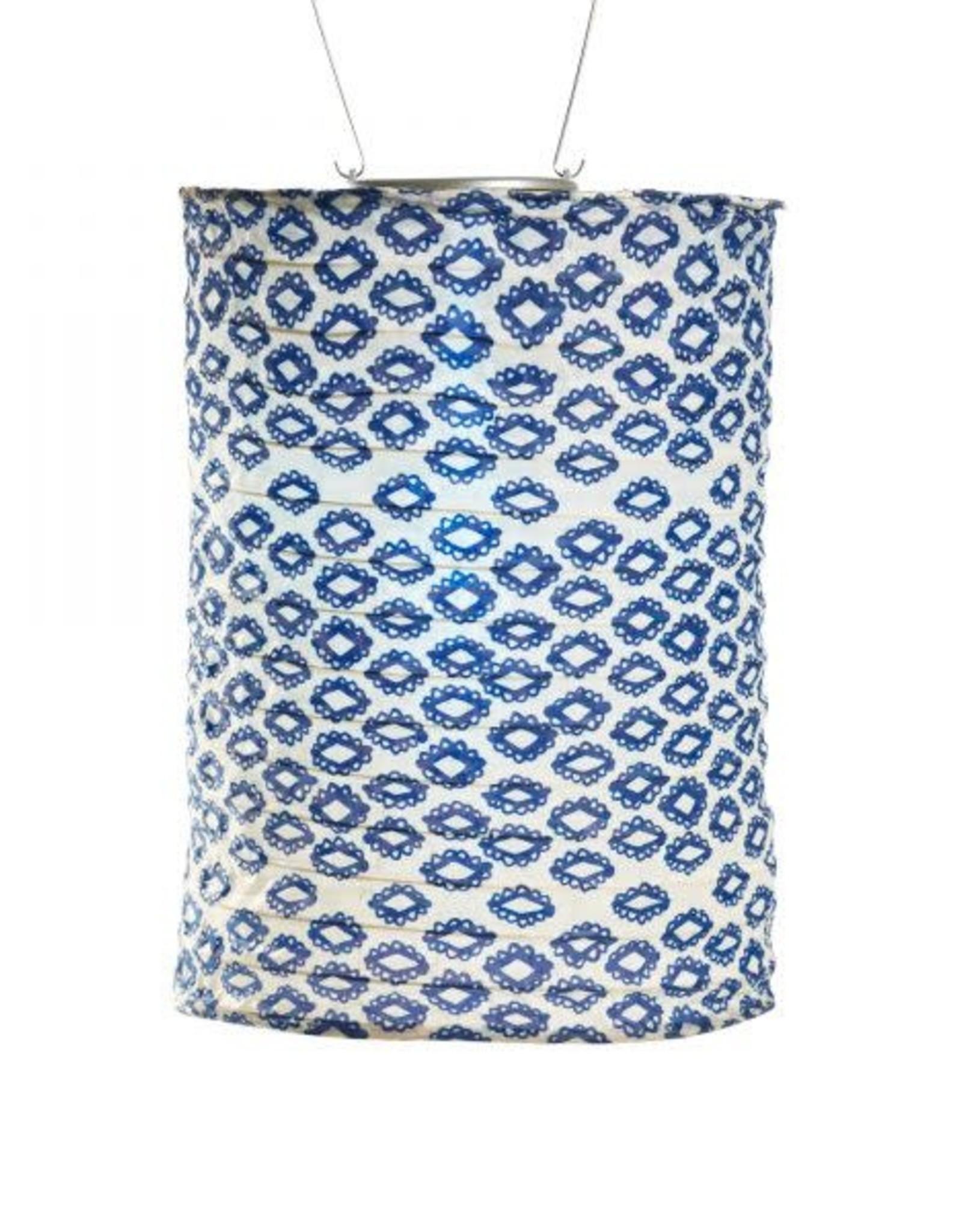 Allsop Printed Tribal Diamond Lantern