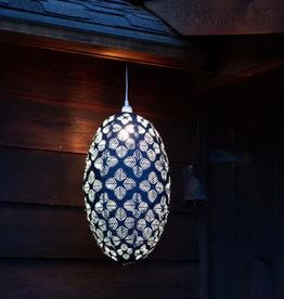 Allsop Stella Nova Geo Palm White Lantern