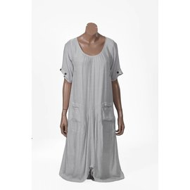 Passions d'ailleurs D04d Mid-Long Dress, Short Sleeves