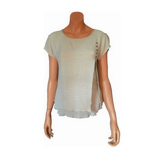Passions d'ailleurs S07a Short Shirt, Small Sleeves