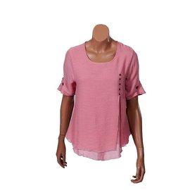 Passions d'ailleurs S07d Sort Shirt, Short  Sleeves
