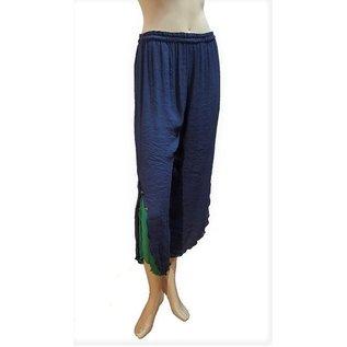 Passions d'ailleurs P07 Pantalon  Corsaire Réversible