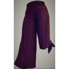 Passions d'ailleurs SP03 Pants Large Legs, Opened on Sides