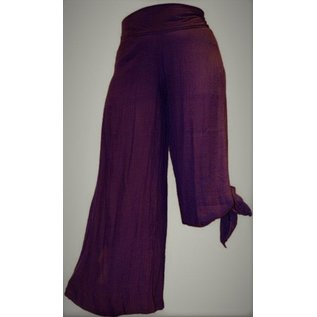 Passions d'ailleurs SP03 Pants Large Legs, Opened Both Sides from Bottom up to Knee