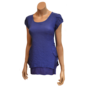 Passions d'ailleurs S11a Tunic A Line,  2 Pockets, Short Sleeves