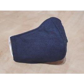 Passions d'ailleurs Masque Artisanal de Protection en Coton Uni