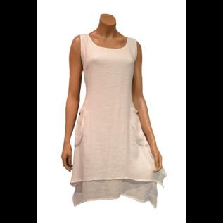 Passions d'ailleurs D07 Dress A Line, 2 Pockets, no Sleeve