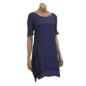 Passions d'ailleurs D07d Dress A Line, 2 Pockets, Short Sleeves with Buttons
