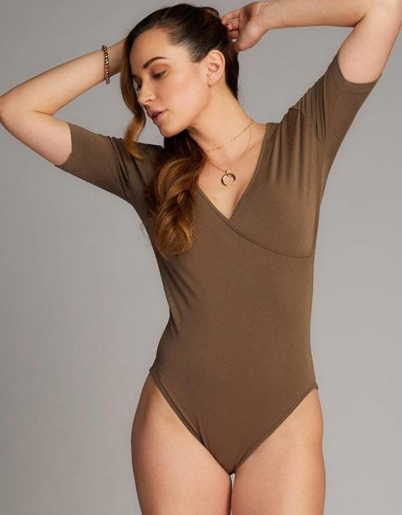 Cest Moi Bamboo Wrap Body Suit