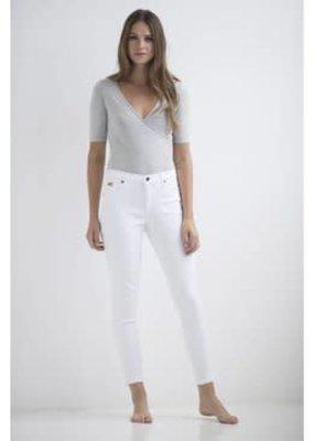 Yoga Jeans White Silence