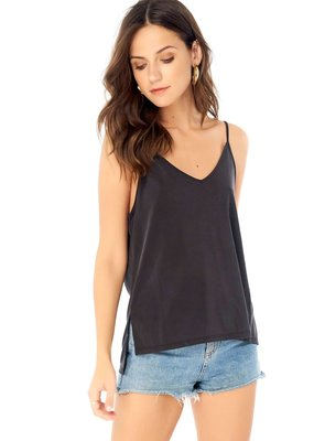 Saltwater Luxe Basic V Neck Low back T