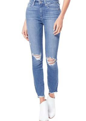 Paige Hoxton Ankle - Glacial Destructed Skinny