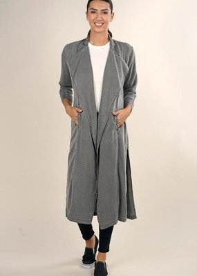 Love Stitch Samantha Tencel Trench