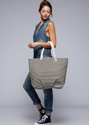 Love Stitch Beach Tote