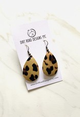 Dirt Road Designs Mini Textured Leather Earrings