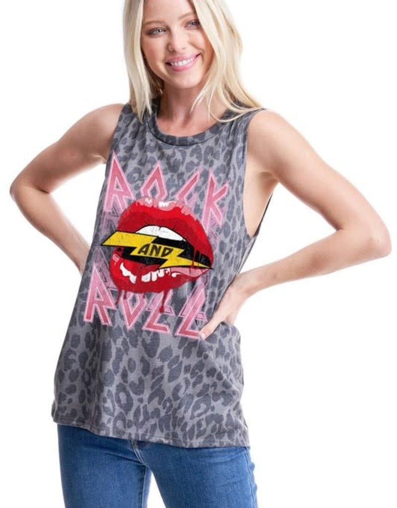 Zutter Rock & Roll Lippy Tank