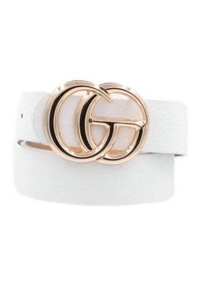 CG Belt White