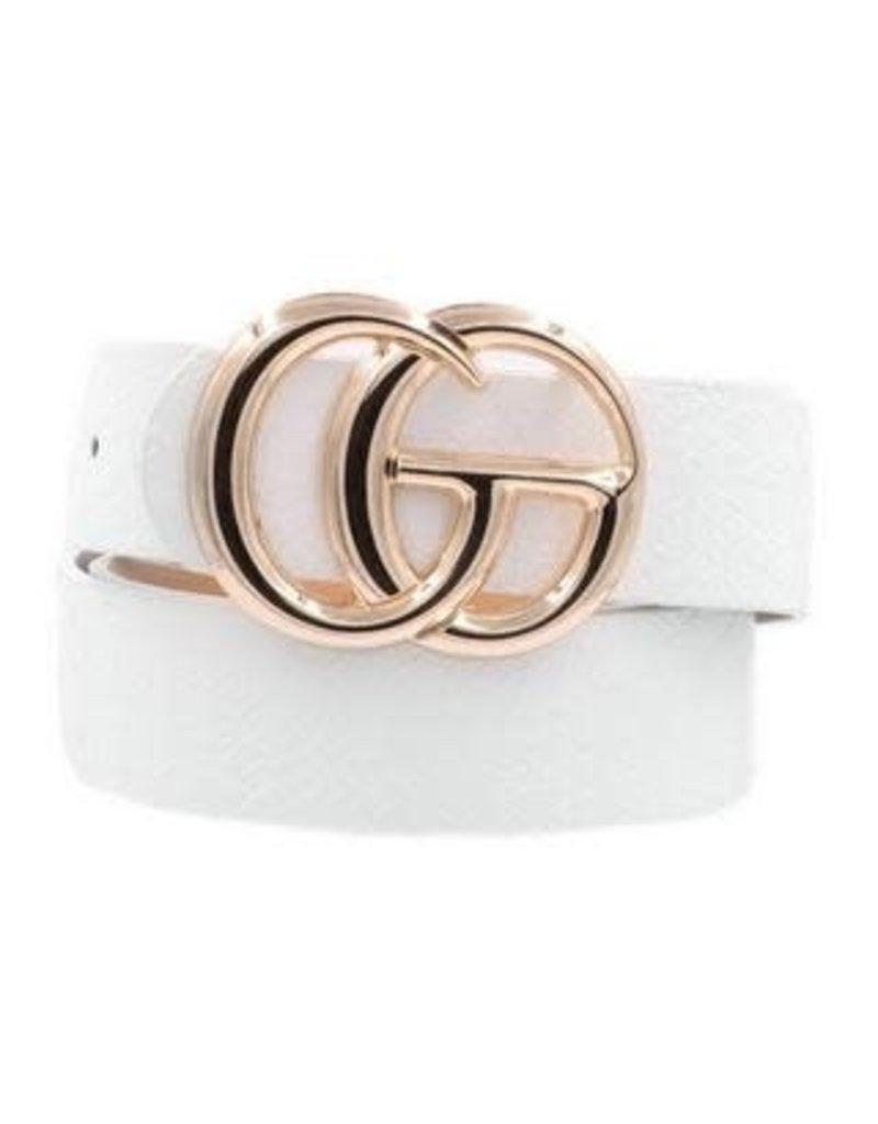 CG Belt White