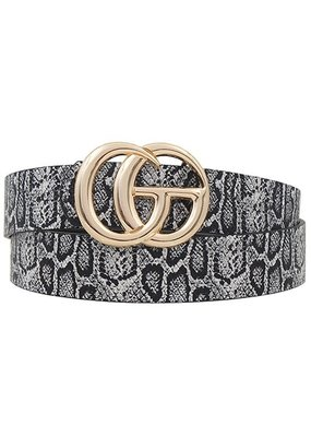 CG Belt Black Snake
