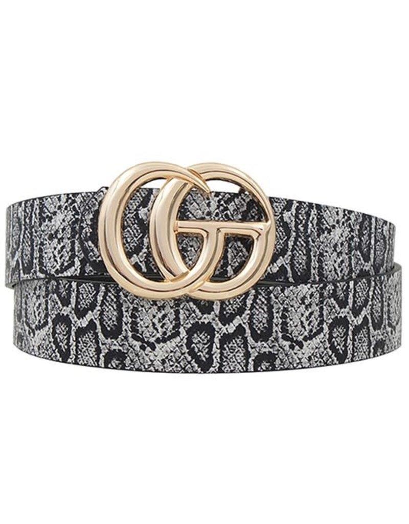CG Belt Black Snake