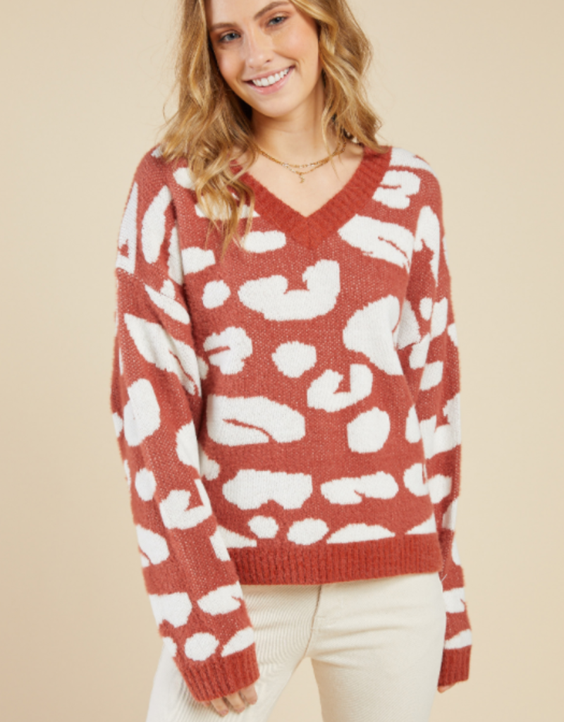 Sadie & Sage All Eyes Sweater