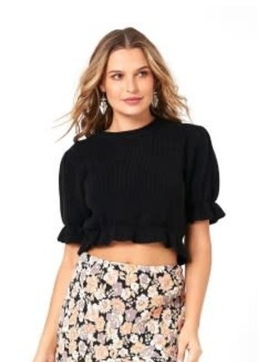 Mink Pink Molly Knit Top