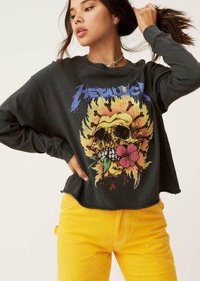 Daydreamer Metallica Flaming Skull