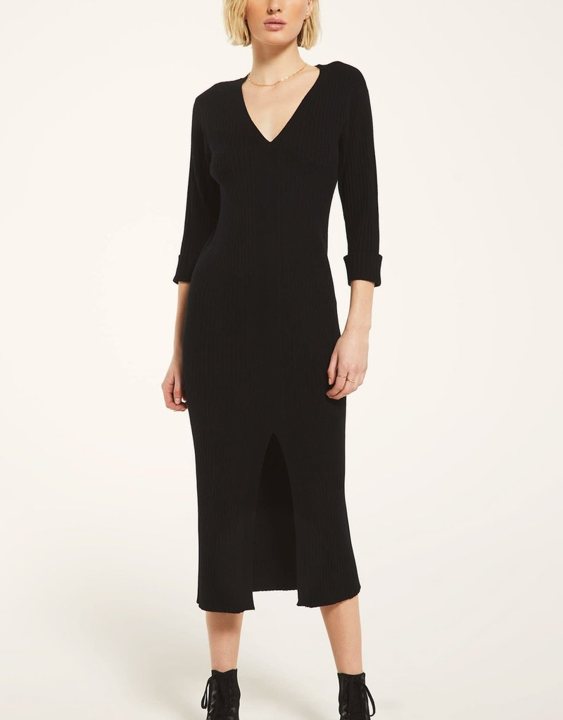 Rag Poets Black Moser Dress