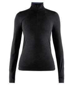 CRAFT CRAFT FUSEKNIT COMFORT ZIP LONG SLEEVE FEMME
