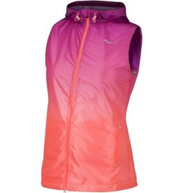 SAUCONY SAUCONY - PACKABLE FADE VEST WOMEN