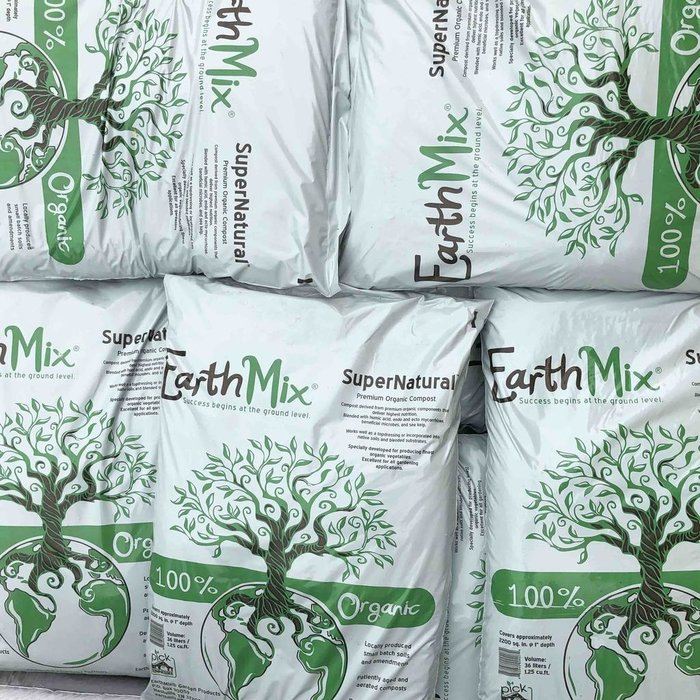36L/1.25 Cuft Bag EarthMix® SuperNatural™ / Premium Organic Compost