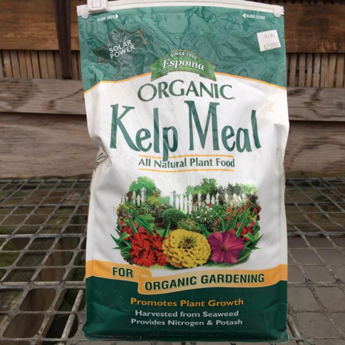 4 Lb Kelp Meal Fertilizer Espoma