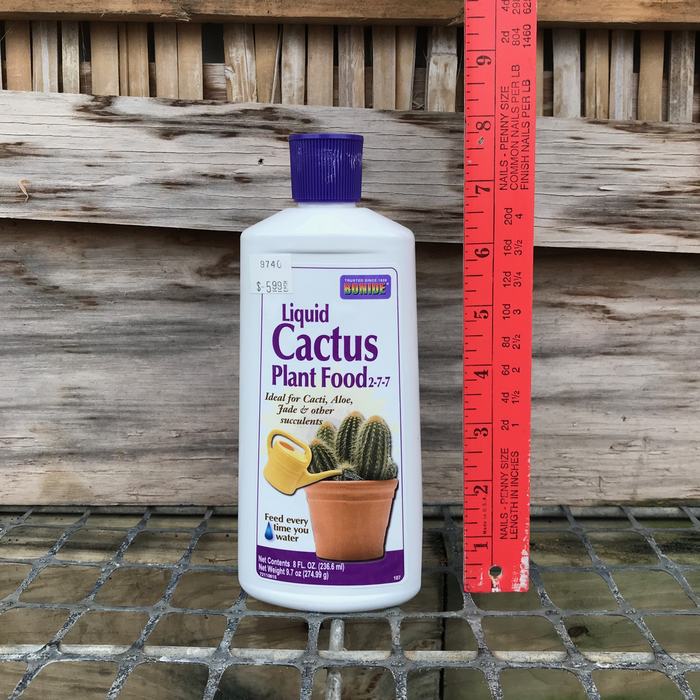8oz Liquid Cactus Plant Food 2-4-7 Bonide