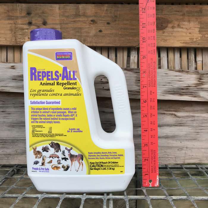 3Lb Repels-All Animal Repellant Bonide