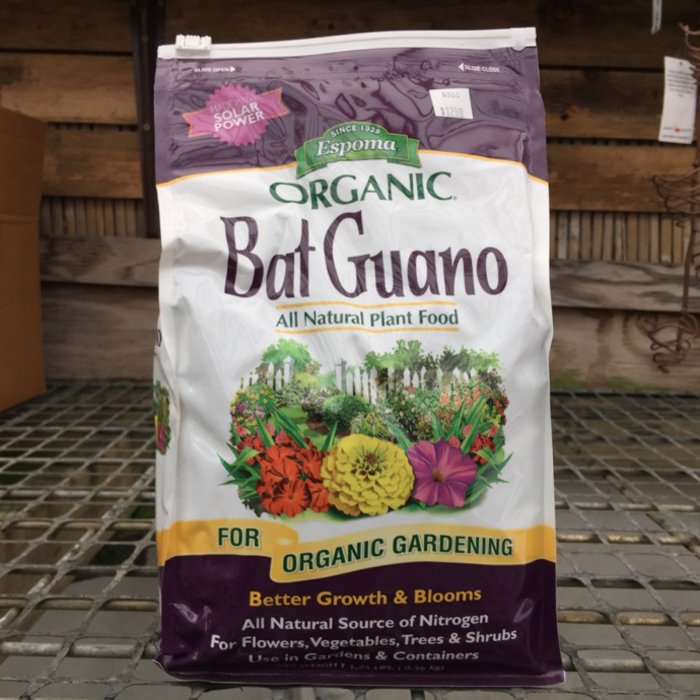1.25lb Bat Guano Fertilizer 10-3-1 Espoma