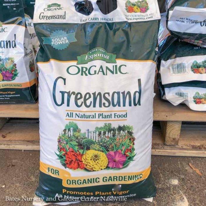 30Lb Greensand 0-0-.1 Fertilizer Espoma