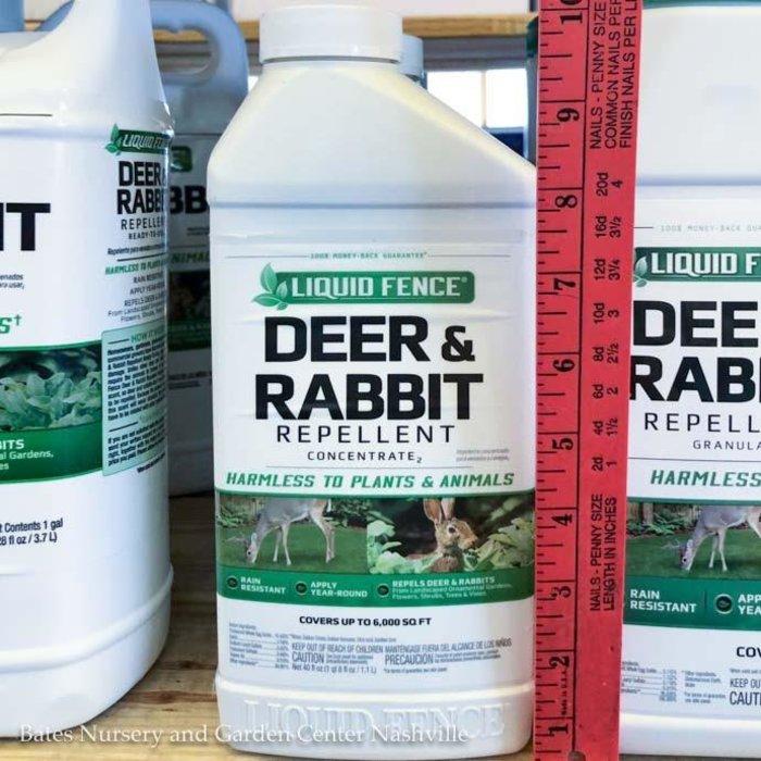 40oz Liquid Fence Deer & Rabbit Concentrate