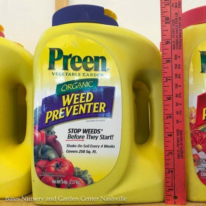 5Lb Preen Organic Vegetable Garden Weed Preventer / Corn Gluten