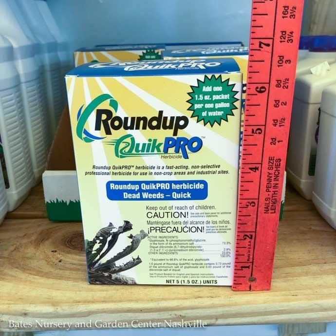 1.5oz Roundup Quik Pro 5pks/box Herbicide